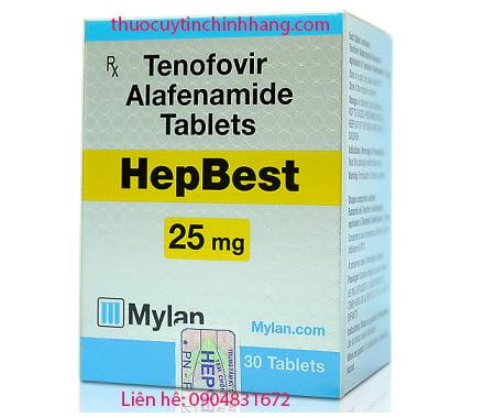 Thuốc hepbest giá bao nhiêu?