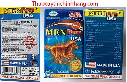 Thuốc Men pro USA giá bao nhiêu