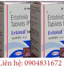 Thuốc Erlonat 150mg giá bao nhiêu, giá thuốc erlonat 150mg