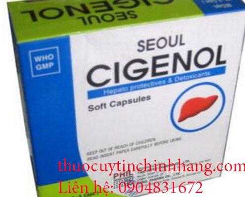 Thuốc Seoul cigenol giá bao nhiêu