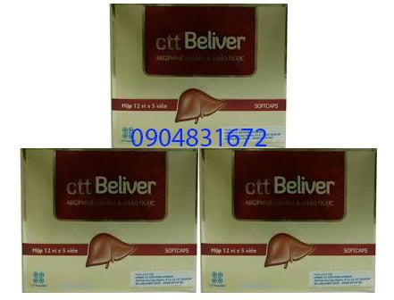 Thuốc CTT Beliver giá bao nhiêu