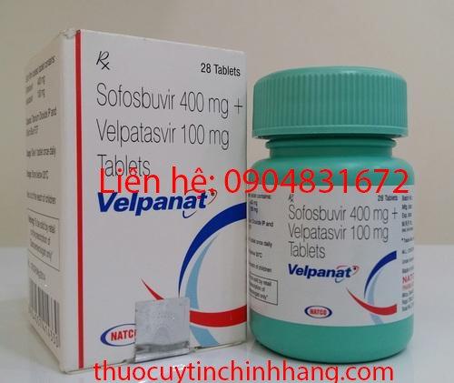 Thuốc Velpanat là thuốc gì