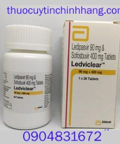Thuốc Ledvirclear mua ở đâu, giá bao nhiêu