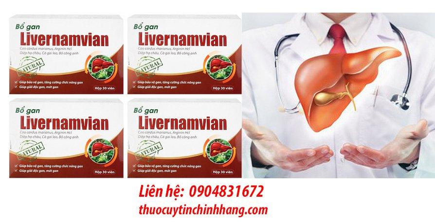 Thuốc Livernamvian giá bao nhiêu