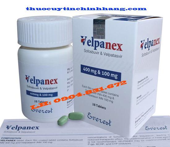 Thuốc Velpanex mua ở đâu?