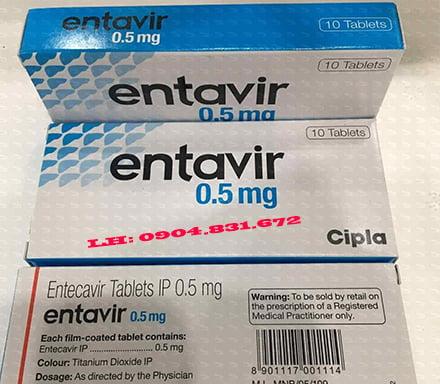 Giá thuốc Entetavir