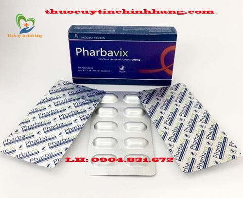 Thuốc Pharbavix giá bao nhiêu
