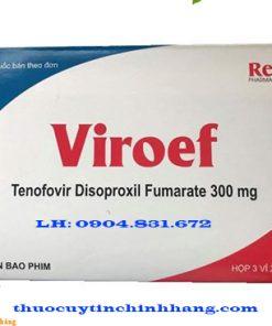 Thuốc Viroef 300mg giá bao nhiêu
