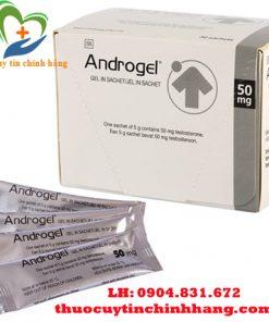 Thuốc Androgel 50mg giá bao nhiêu