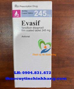 Thuốc Evasif 245mg giá bao nhiêu