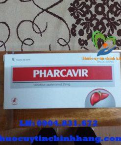 Thuốc Pharcavir 25mg giá bao nhiêu