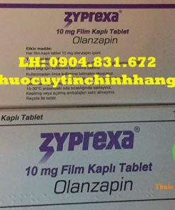 Thuốc Zyprexa 10mg giá bao nhiêu