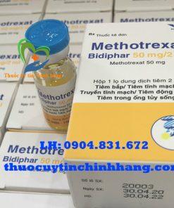 Thuốc Methotrexat bidiphar giá bao nhiêu