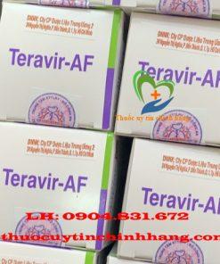Thuốc Teravir AF giá bao nhiêu