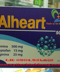 Thuốc Alheart giá bao nhiêu