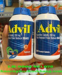 Thuốc Advil giá bao nhiêu